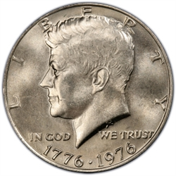 Kennedy Half Dollar 1976 D Bicentennial Kennedy Half Dollar